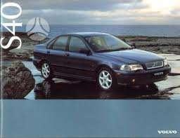 Volvo S40 dalimis. 1997-2003m 1.8, 2.0, 1.9td