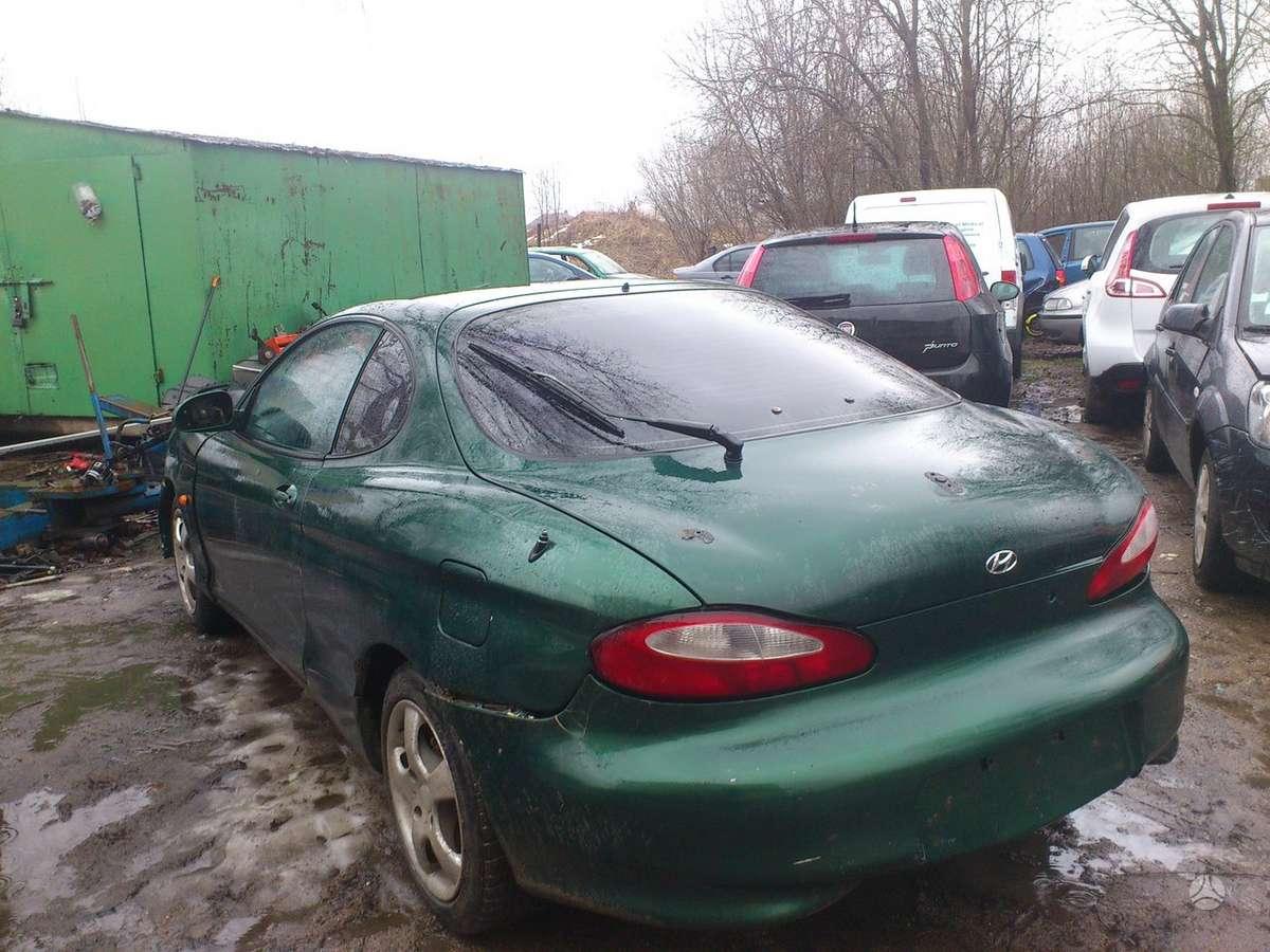 Hyundai Coupe dalimis. Iš prancūzijos. esant galimybei,