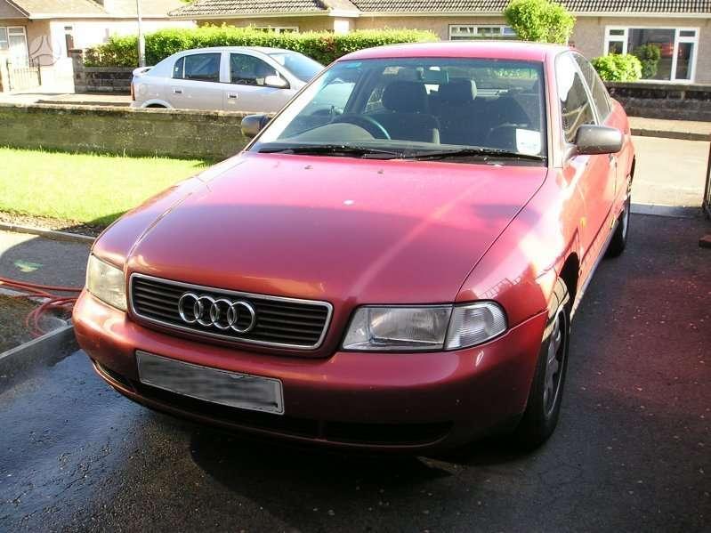 Audi A4 dalimis. Dyzelis , benzinas sveikos dalys 66 kw ir 81