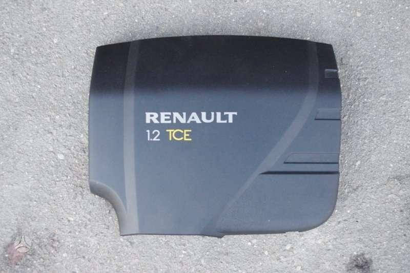 Renault Clio. Variklio dangtis nuo 1.2 tce - 100 lt.