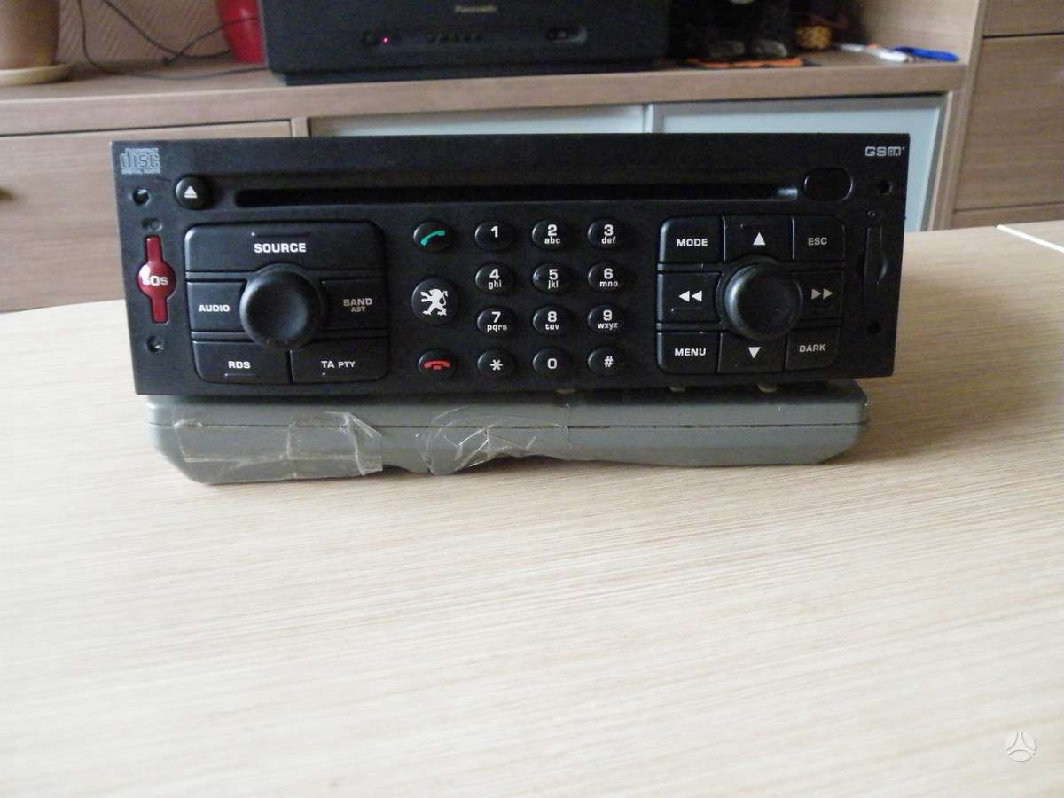 -Kita- Peugeot / Citroen  MP3, cd grotuvai