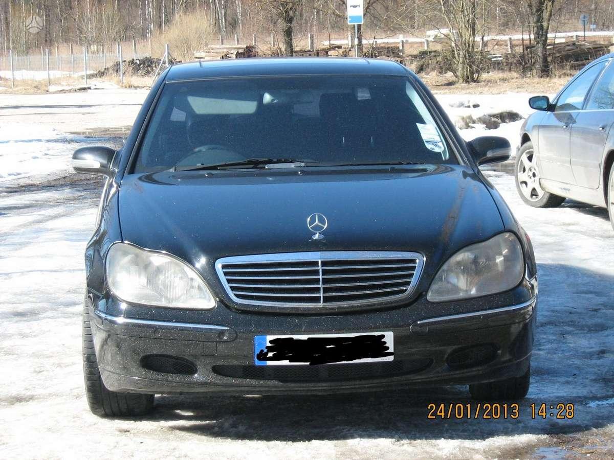 Mercedes-Benz S klasė dalimis. longas dalimis superkame