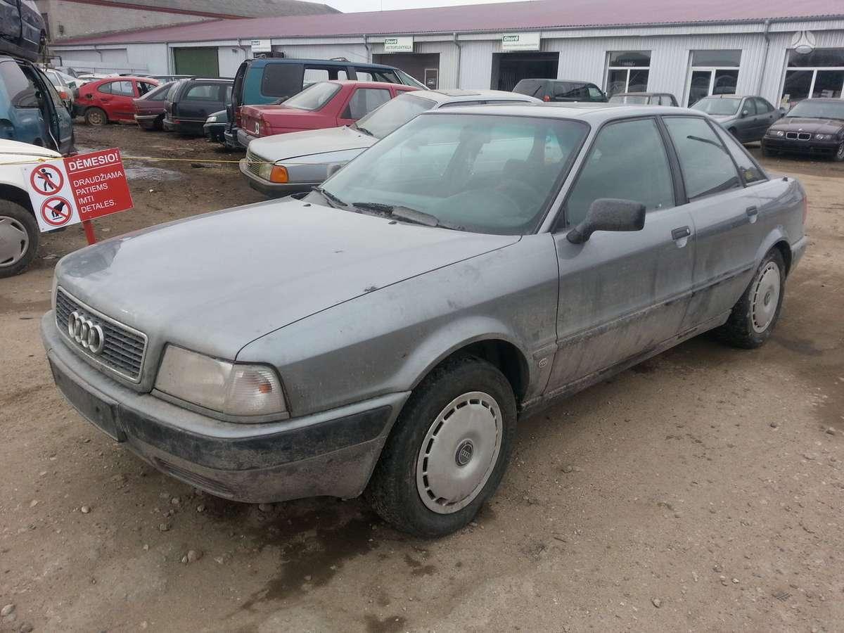 Audi 80 (B4) dalimis. Prekyba originaliomis naudotomis detalėmis.
