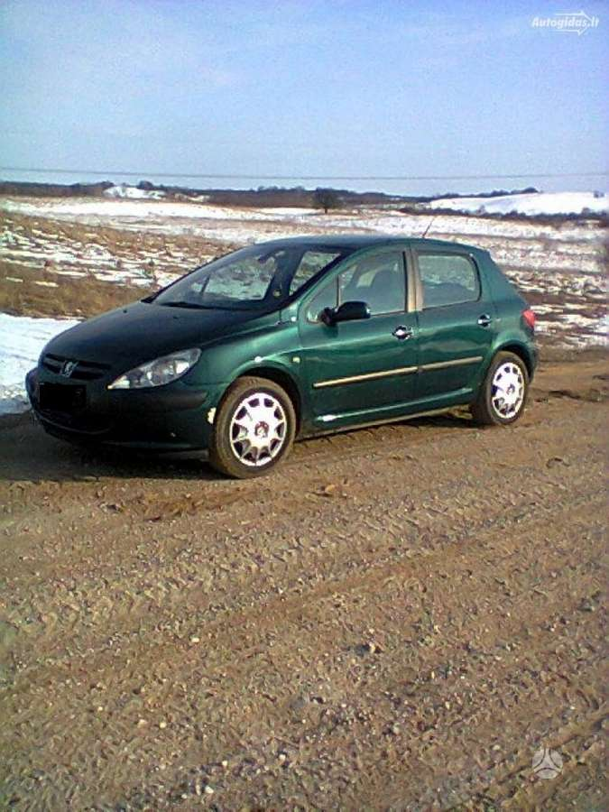 Peugeot 307 dalimis. Didelis pasirinkimas naudotu prancuzisku