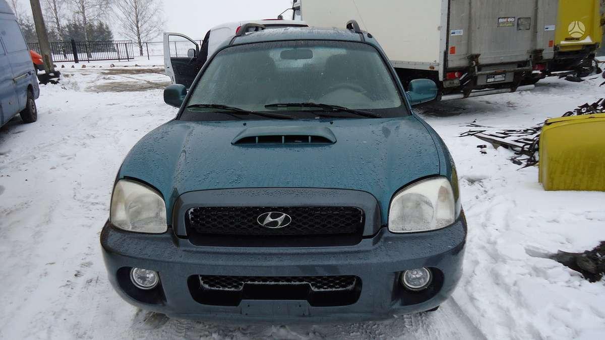 Hyundai Santa Fe dalimis. Tel8-633 65075 detales pristatome