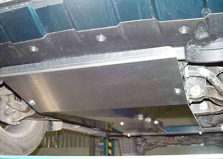 Nissan Navara. Aliuminė dugno apsauga nissan navara/ pathfinder.