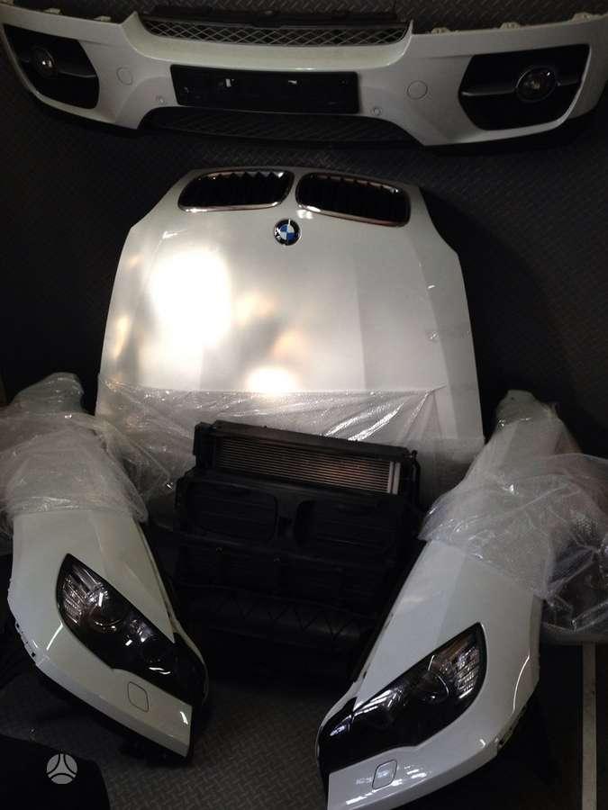 BMW X6. Bmw x5 e71 komplektinis priekis , su radiatoriais , pr