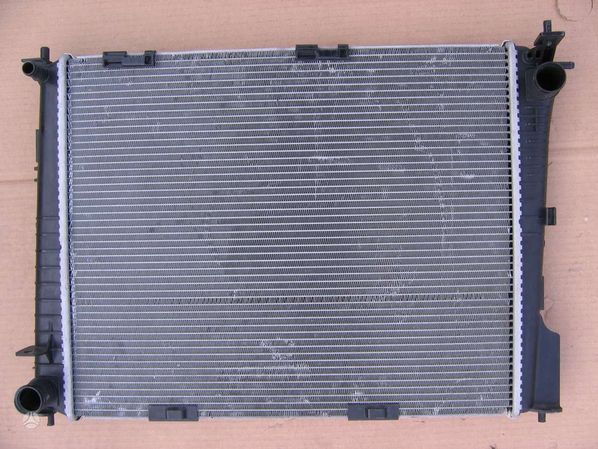 Renault Modus kondicionieriaus radiatorius, vandens radiatorius, ventiliatorius