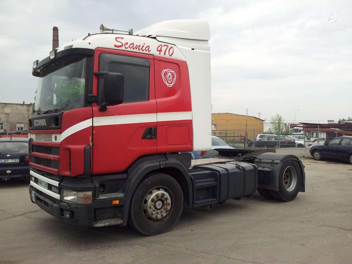 Scania R124LA, 1 miegamoji vieta