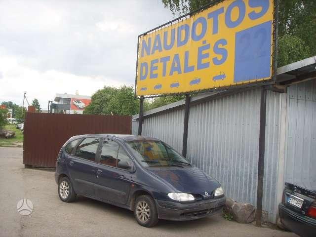 Renault Scenic. Turim daugiau reno scenic dalimis. dalimis.uab