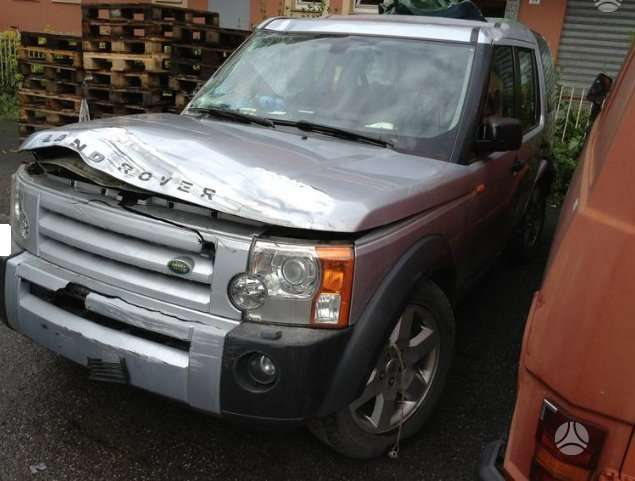 Land Rover Discovery. Europa