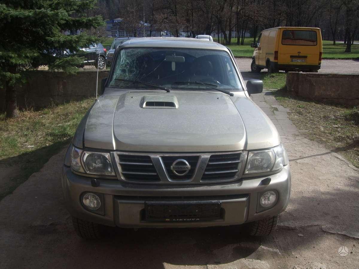 Nissan Patrol. доставка бу запчастей с разтаможкой в минск (рб) и