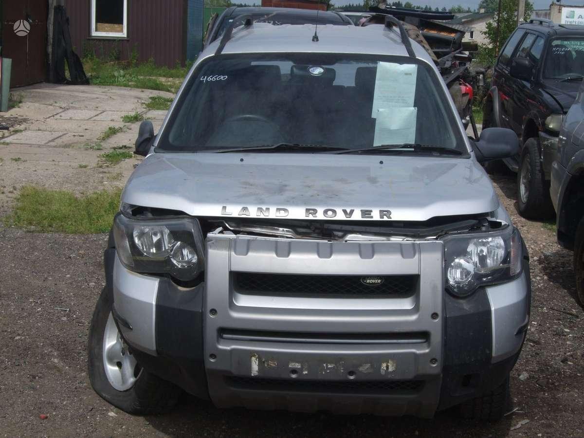Land Rover Freelander dalimis. доставка бу запчастей с разтаможко