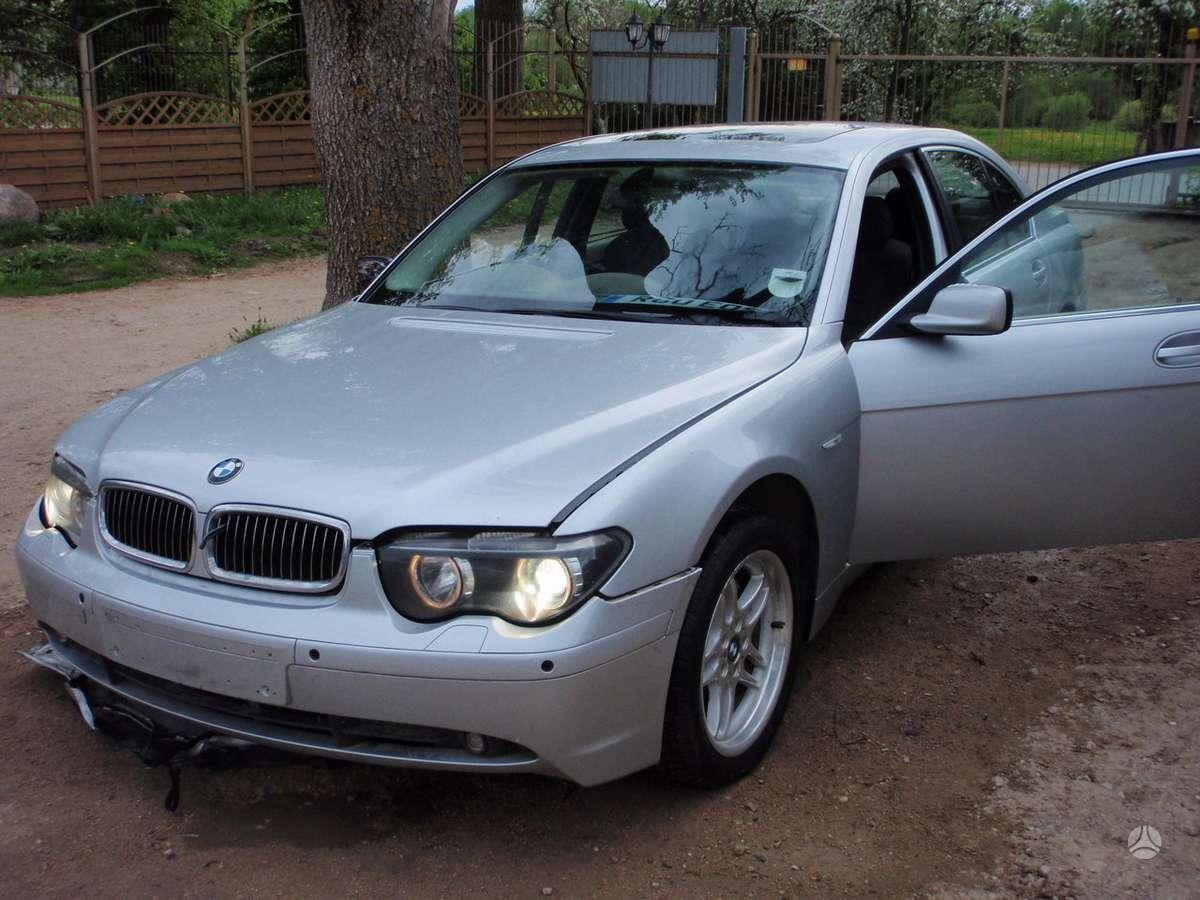 BMW 7 serija dalimis. Bmw730ld 2006m. e66 dalimis bmw730d 2002-