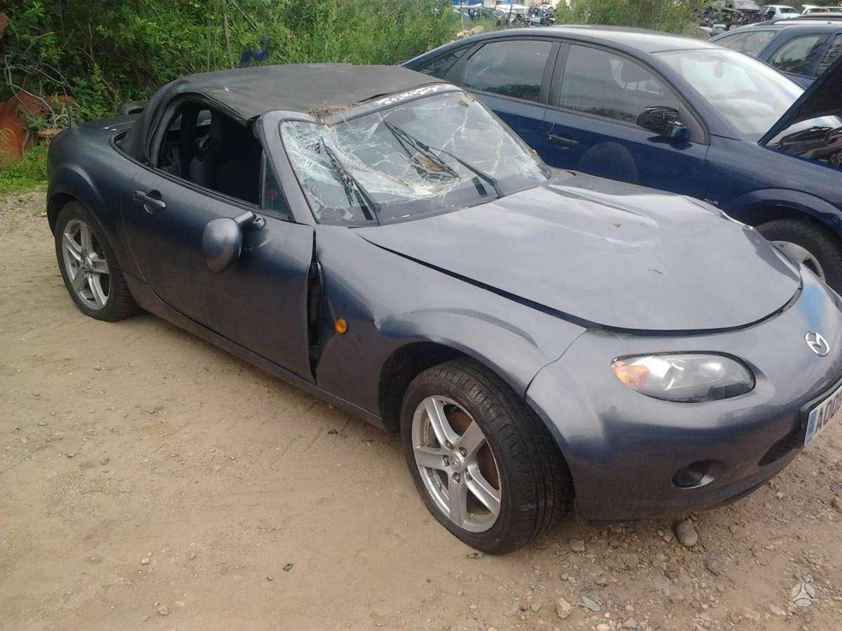 Mazda MX-5 dalimis. Automobiliu dalys - mazda mx-5 2006 1.8l