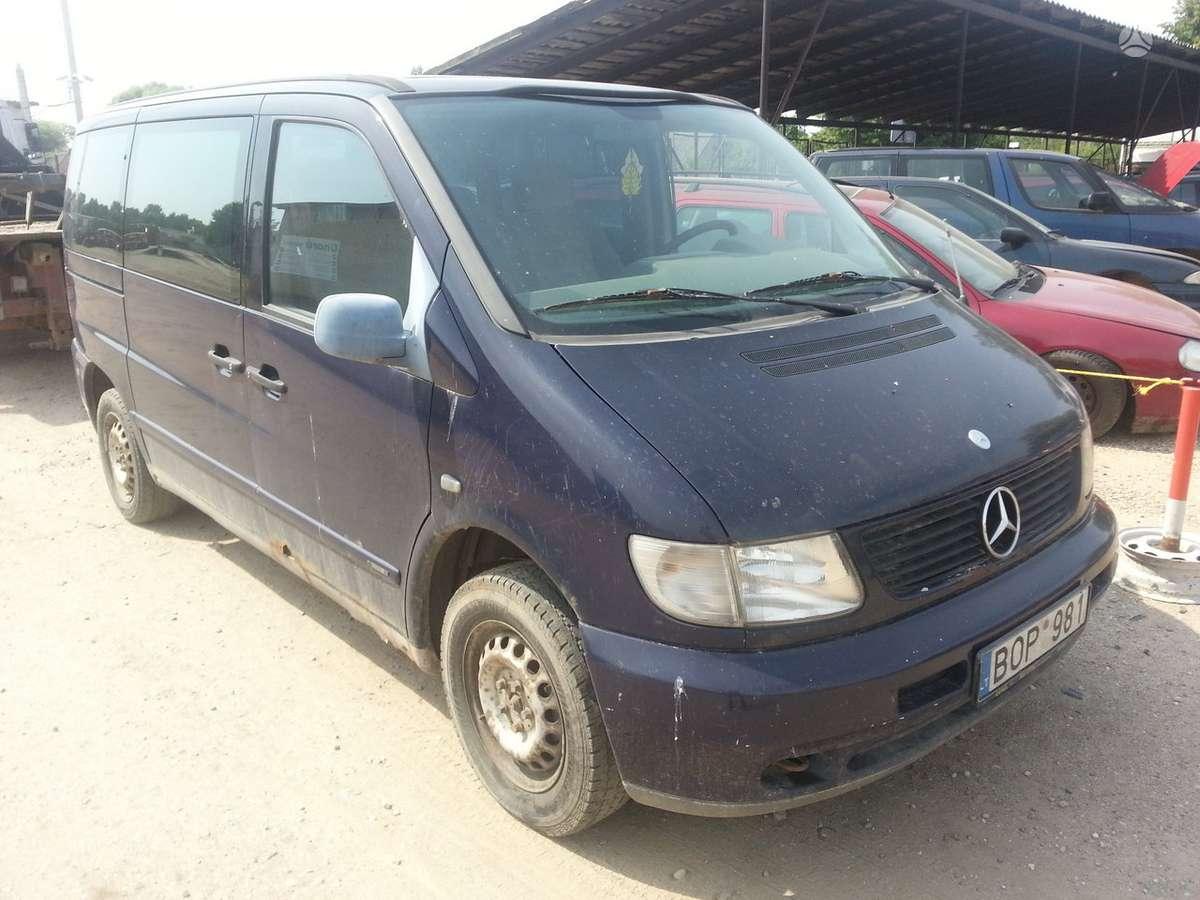 Mercedes-Benz Vito dalimis. Prekyba originaliomis naudotomis