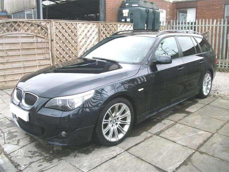 BMW 530. 530d m paketas 170kw xenon zibintai juodos lubos m