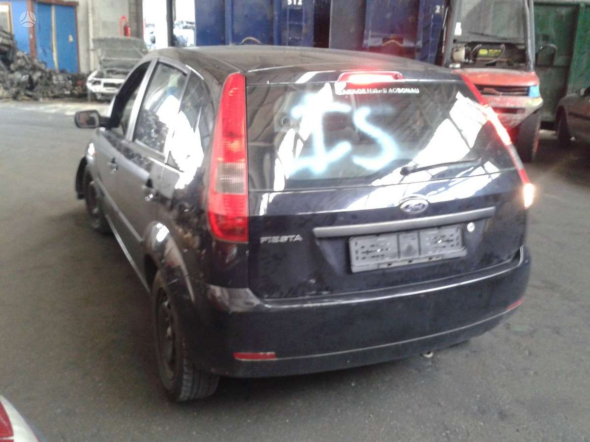 Ford Fiesta. Is sveicarijos (( ch ))