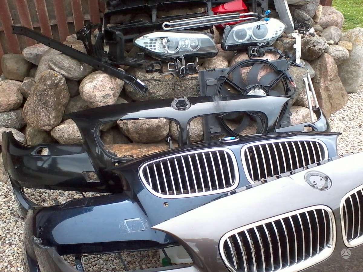 BMW 5 serija. Priekinis kapotas,sparnai, pr.gal.žibintai xenon,