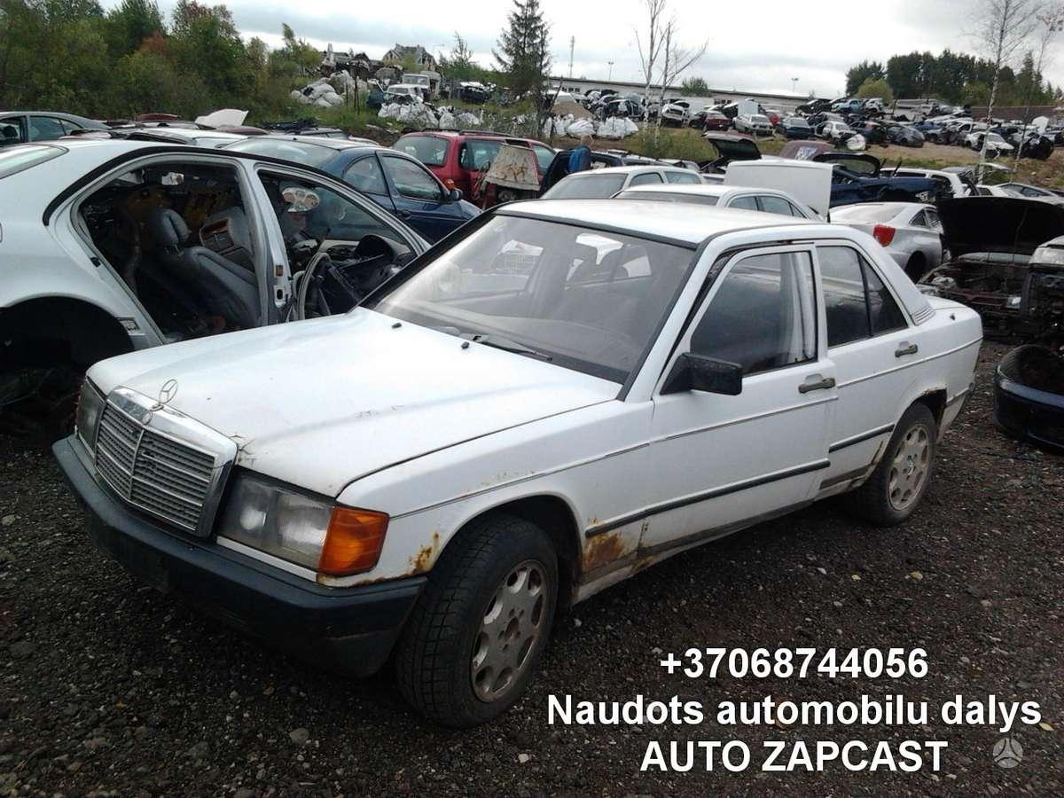 Mercedes-Benz 190 dalimis. Automobiliu dalys - mercedes-benz 190