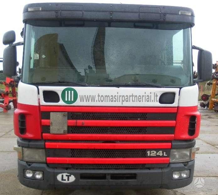 Scania, 124 Naudotos dalys, sunkvežimiai