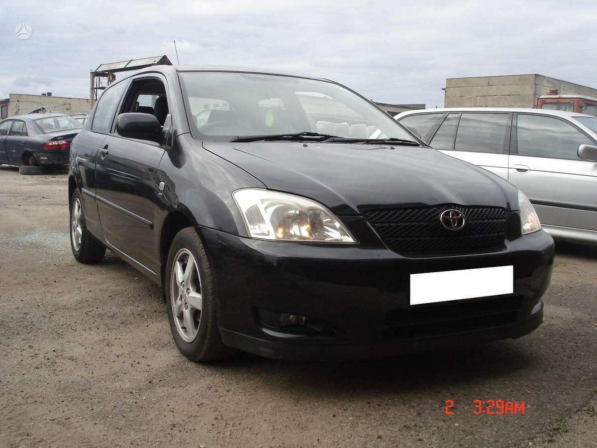 Toyota Corolla. Naudotu ir nauju japonisku automobiliu ir