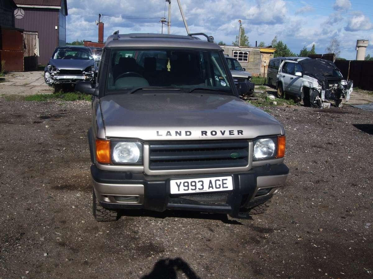 Land Rover Discovery dalimis. доставка бу запчастей с разтаможкой