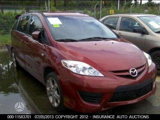 Mazda 5 dalimis. .auto isardyta usa.
