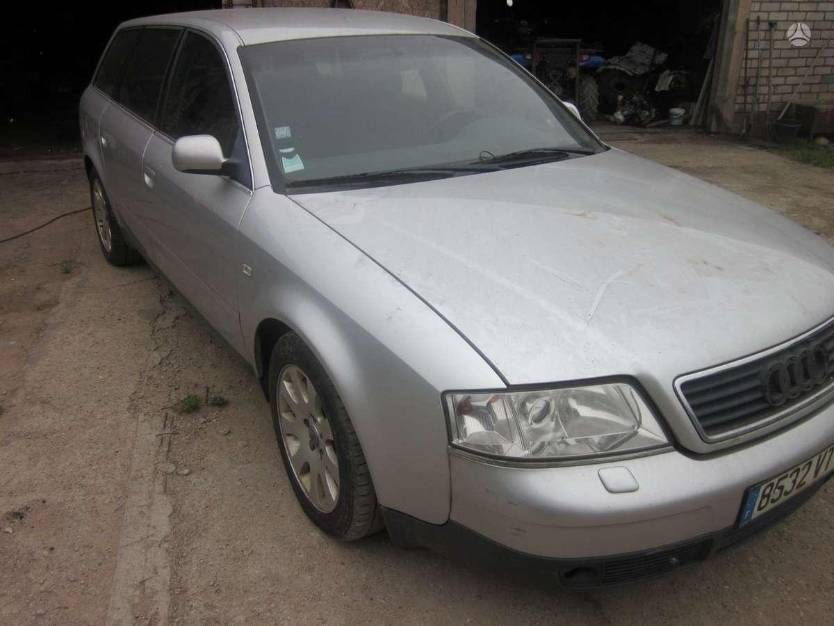 Audi A6. Yra daugiau ardomu auto ir varikliu galimas pristatymas