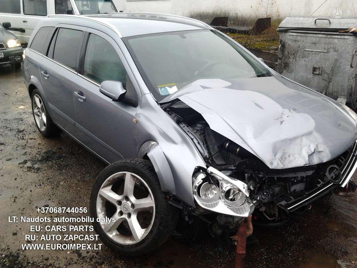 Opel Astra dalimis. Automobiliu dalys - opel astra 2008 1.7l