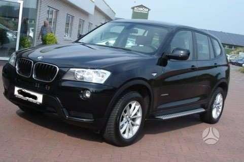 BMW X3. Slenksčiai bmw x3 nuo 2011 metu. originalūs slenksčiai. п
