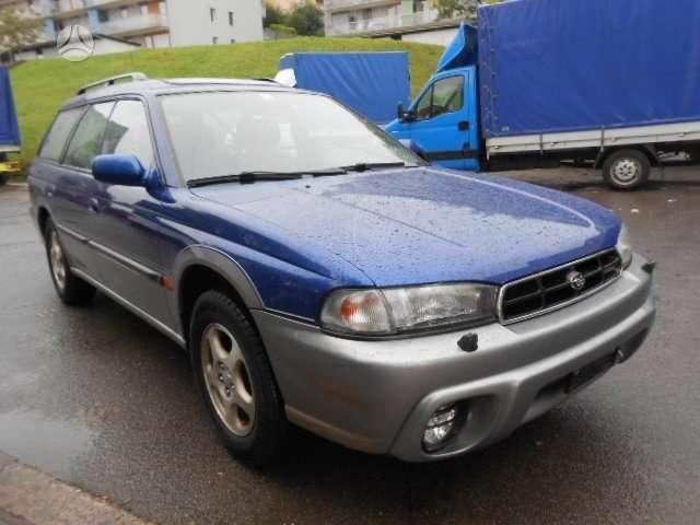 Subaru Outback. Is sveicarijos (( ch ))