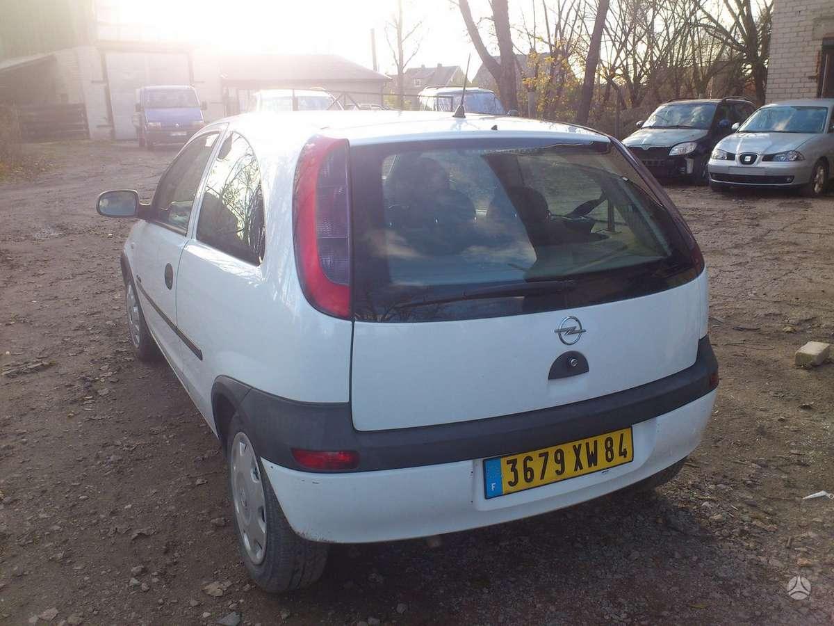 Opel Corsa dalimis. Iš prancūzijos. esant galimybei,