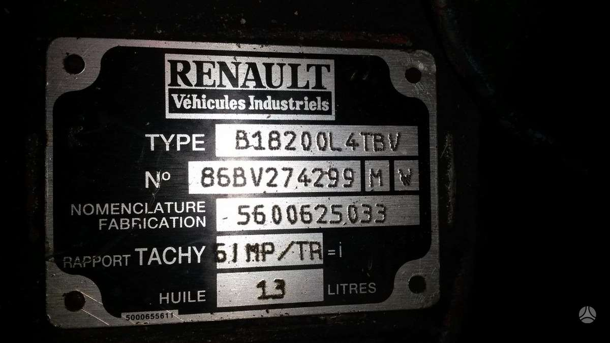 Renault, PREMIUM, vilkikai