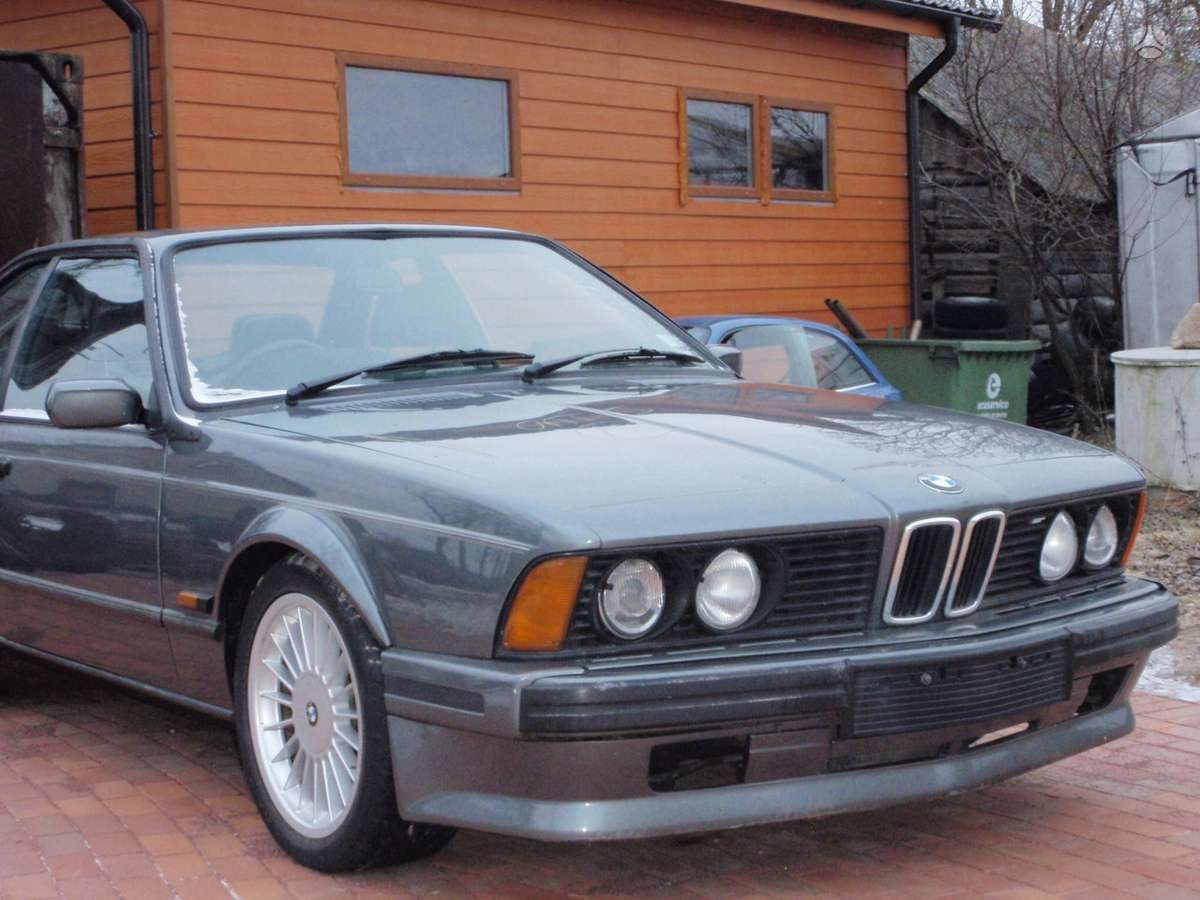 BMW 6 serija dalimis. Bmw 635csi 1982-1989m. bmw 628csi 1983m.