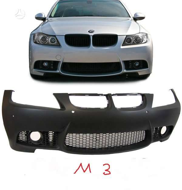 BMW 3 serija. tuning dalys. .m tech ,bei m3  bamperiai  bmw