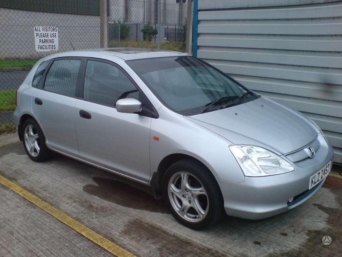 Honda Civic. Naudotu ir nauju japonisku automobiliu ir