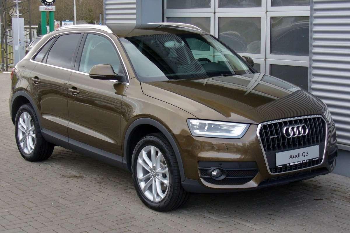 Audi Q3. Naujų originalių automobilių detalių užsakymai