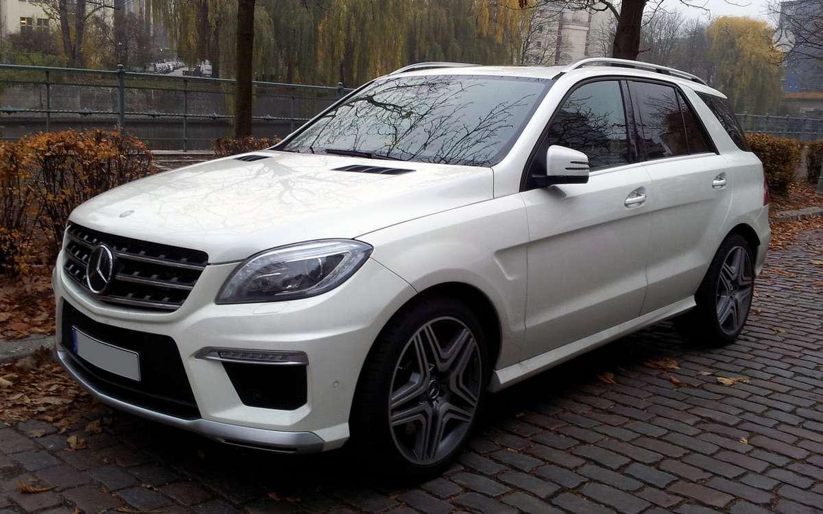 Mercedes-Benz ML klasė. Naujų originalių automobilių detalių už