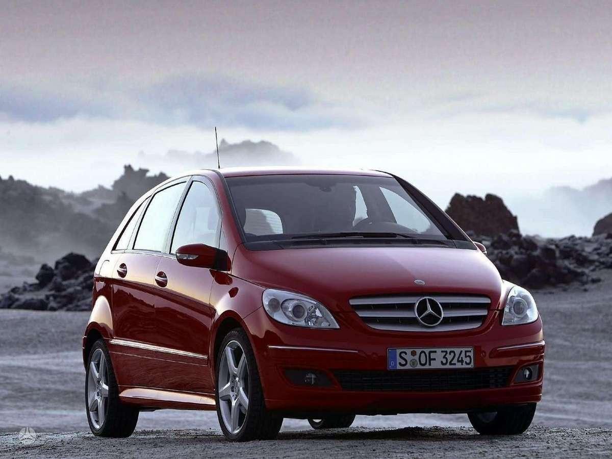 Mercedes-Benz B klasė. Naujų originalių automobilių detalių už
