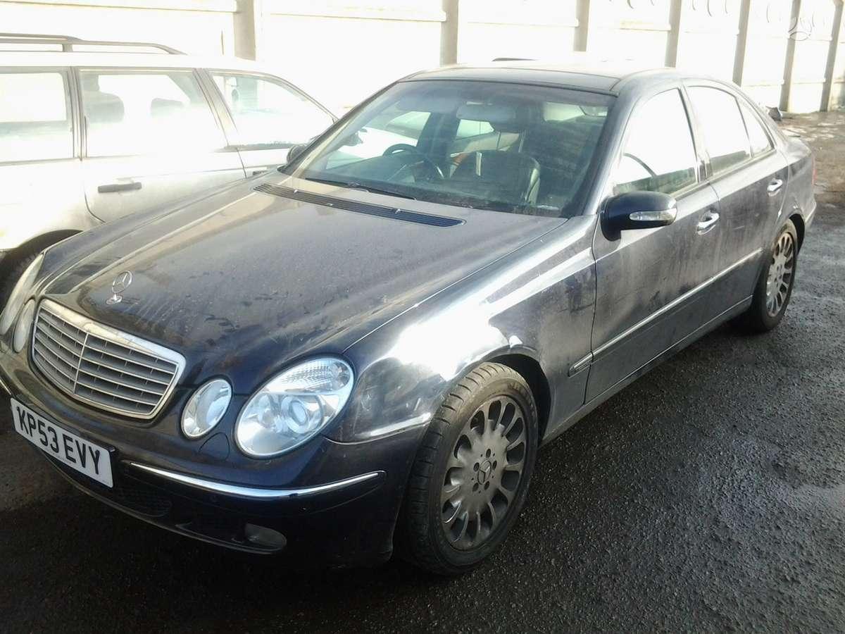 Mercedes-Benz E klasė dalimis. 3.0v6.cdi.elegance!air-matikvaž