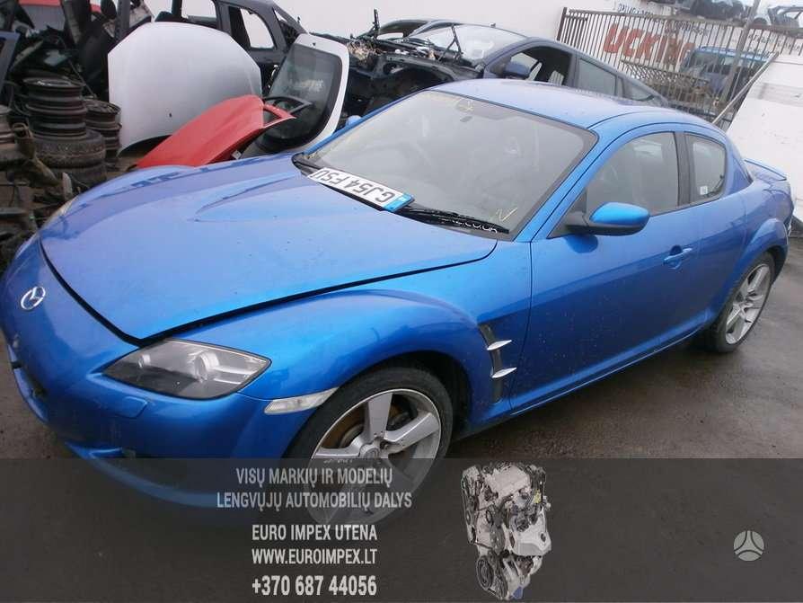 Mazda RX-8 dalimis. Automobiliu dalys - mazda rx-8 2004 2.6