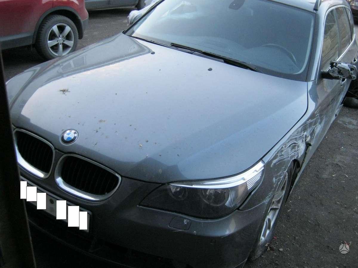 BMW 520 dalimis. I.parkavimo sistema.navigacija.odinis salonas.
