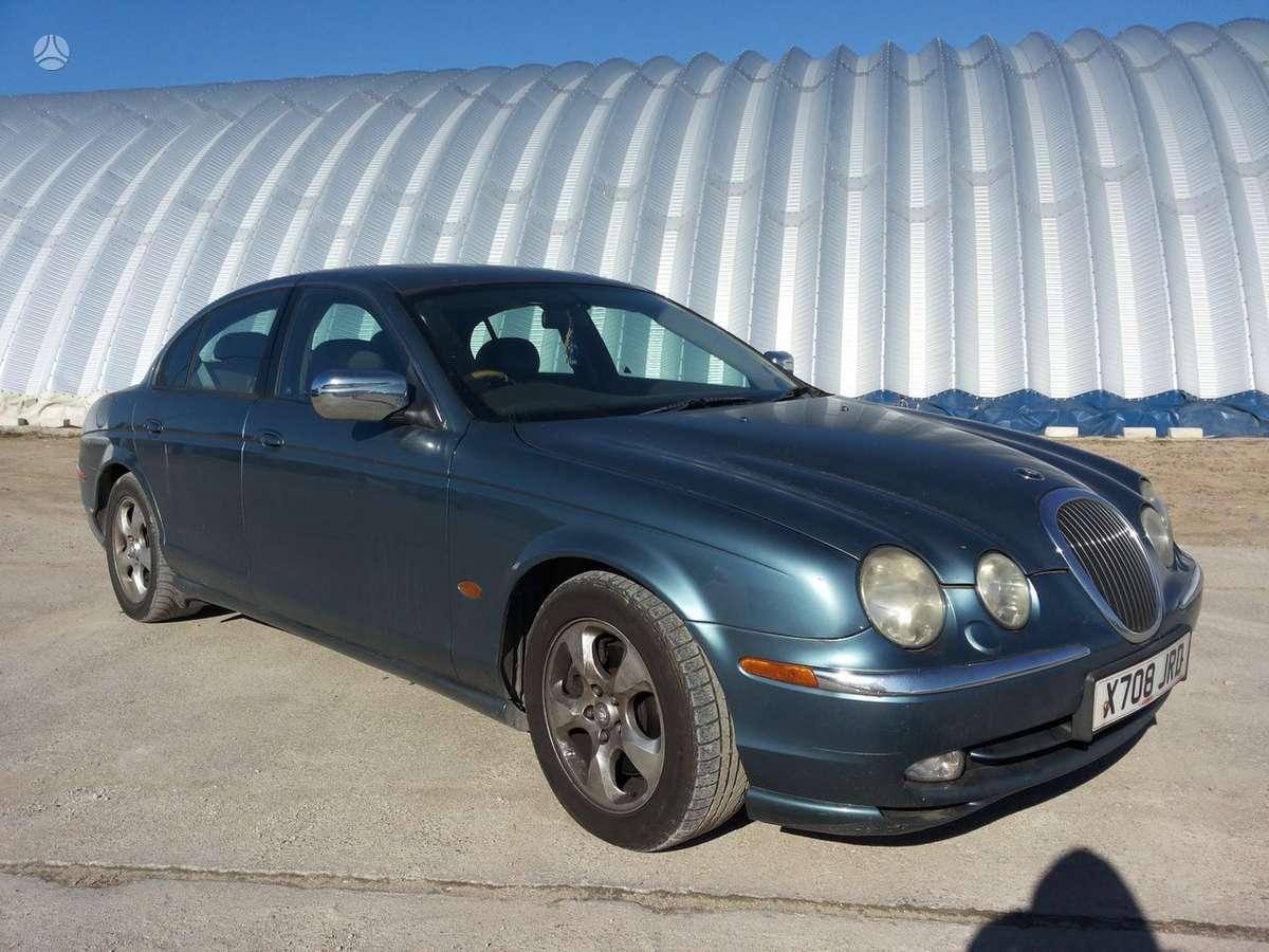 Jaguar S-Type, 4.0 l., sedanas