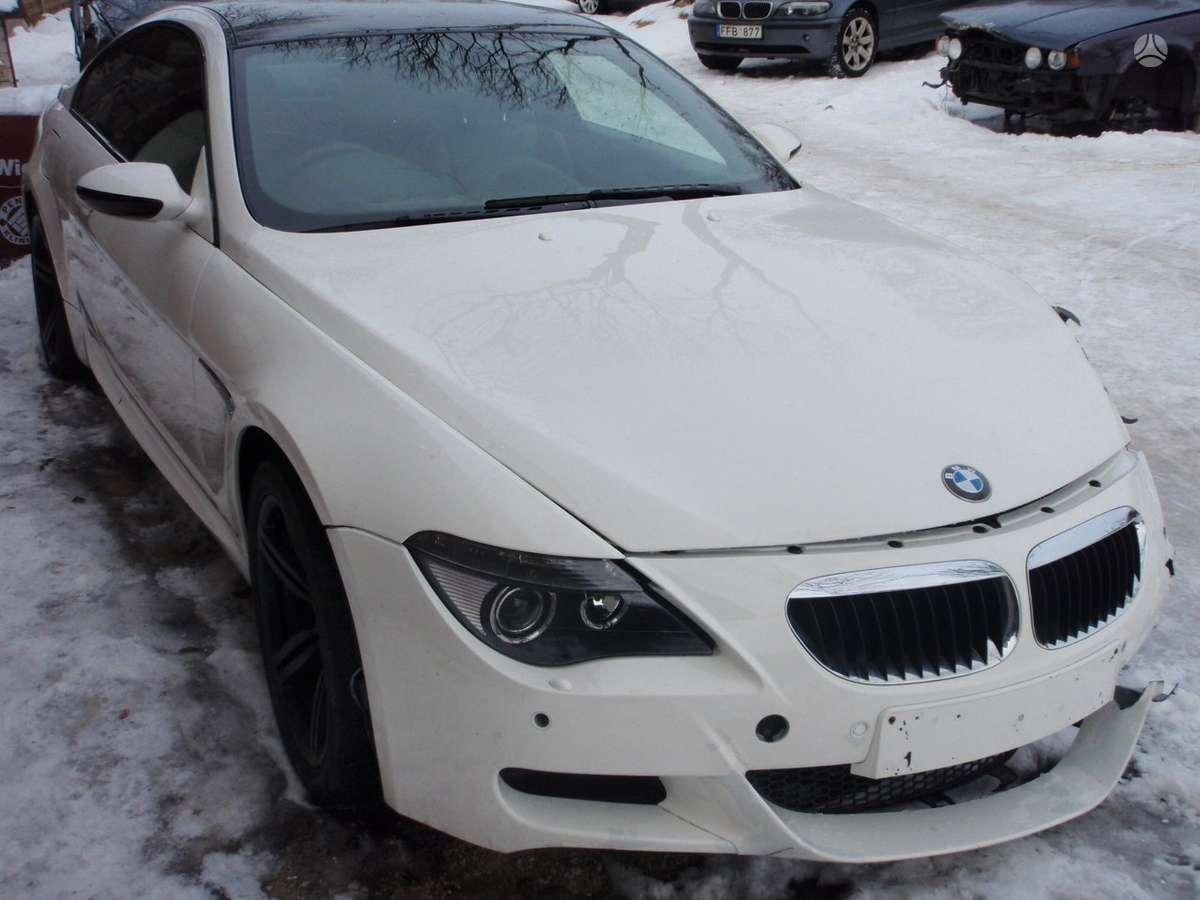 BMW M6 dalimis. Bmw e63 m6 2005m. dalimis  bmw e60 m5 2005-