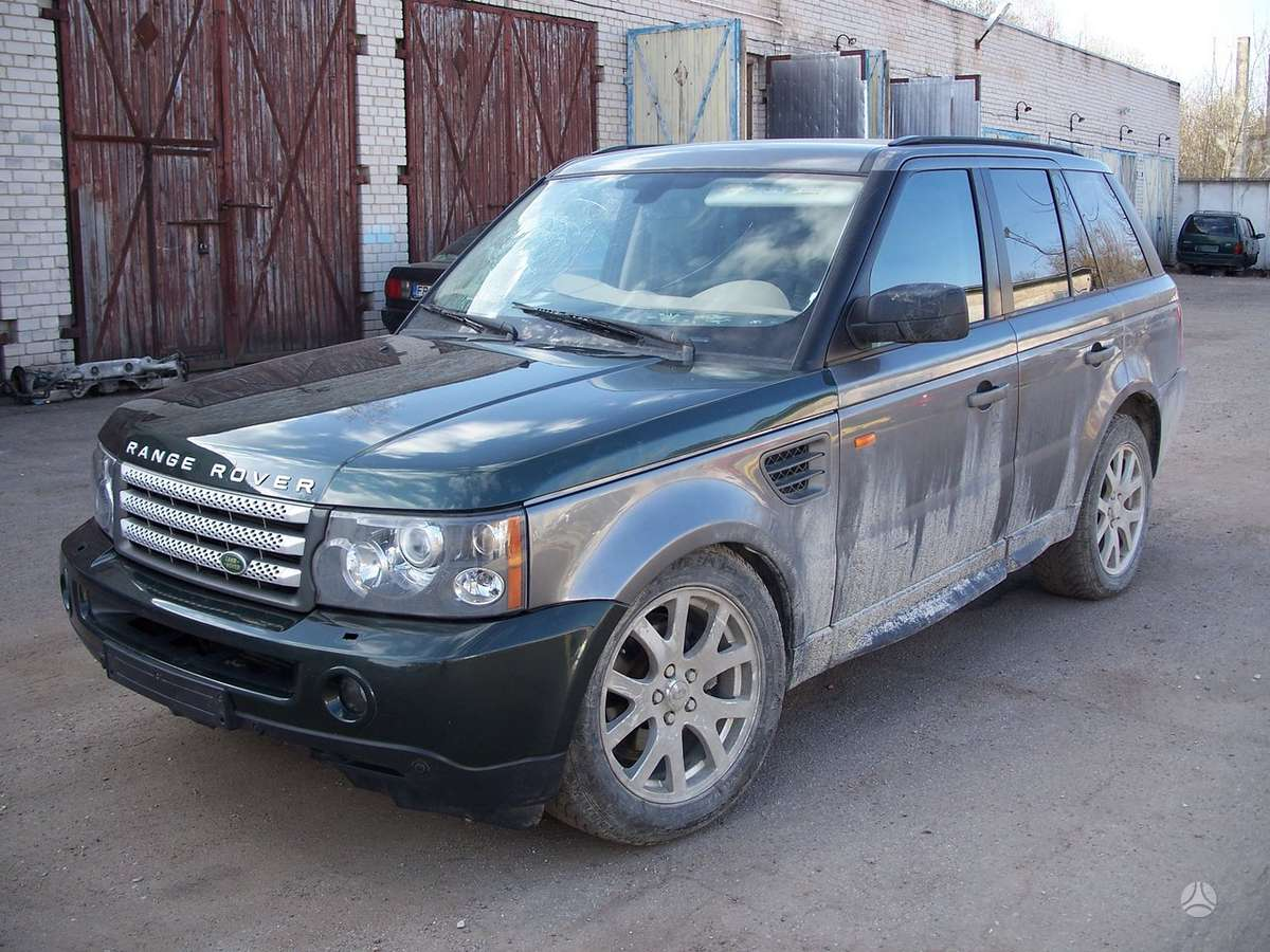 Land Rover Range Rover Sport. Detales galime pristatyti. didelis