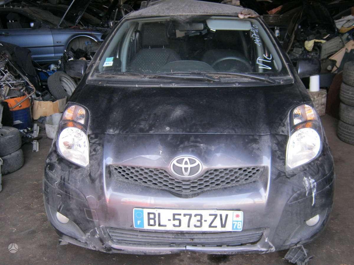 Toyota Yaris dalimis. turime 2007 toyota yaris 1.4 d4d dyzeline
