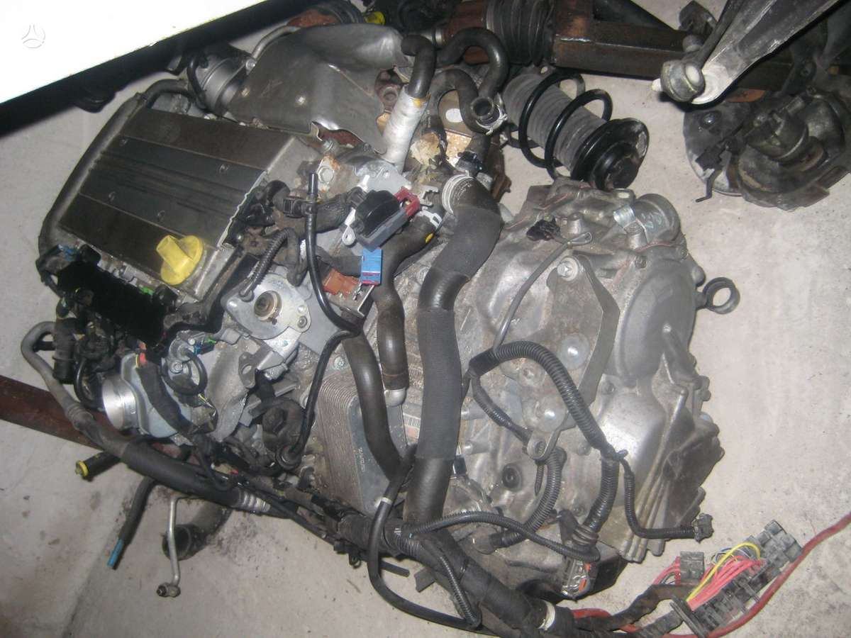 Saab 9-3. Variklis 2.0 turbo 2006  deze 55-50