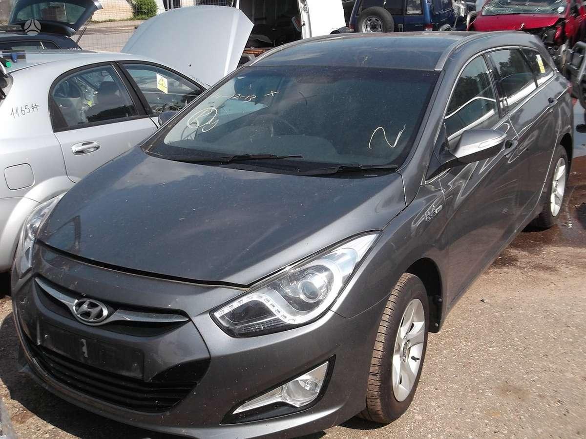 Hyundai i40. Platus naudotų detalių pasirinkimas, asortimentas