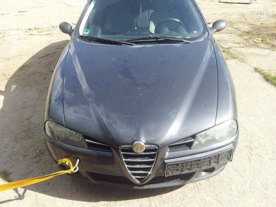 Alfa Romeo 156 dalimis. Variklis dalimis.103kw  variklio apacia